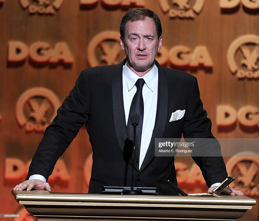 First assistant director Lee Blaine accepts the Frank Capra Award onstage at the 66th Annual Directors Guild Of America Awards held at the Hyatt...