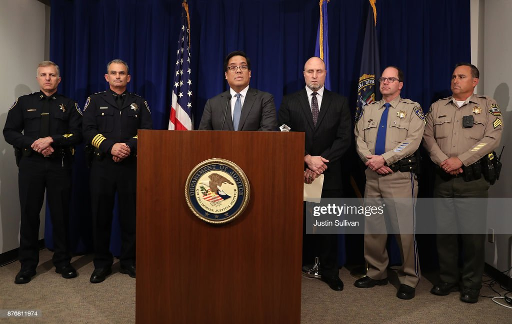 FBI And California State Attorney Announces Indictments Against Members Of The Hells Angels Motorcycle Club