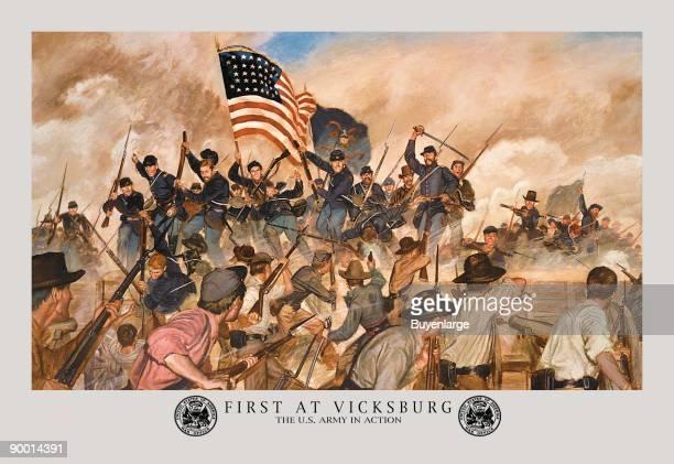 First at Vicksburg