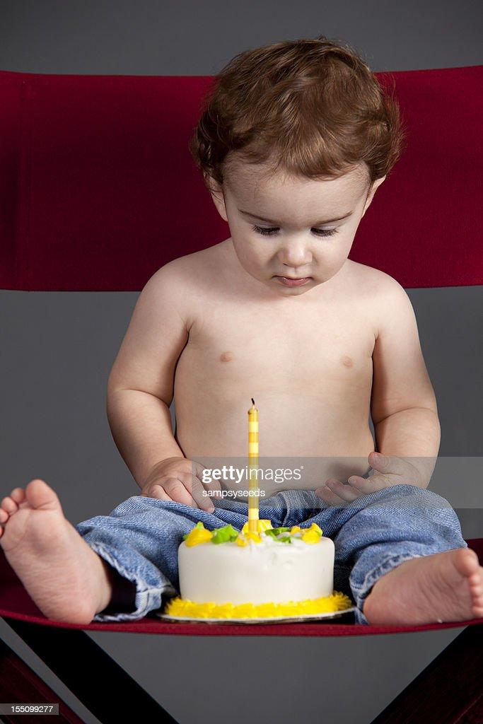 First Birthday Boy : Stock Photo