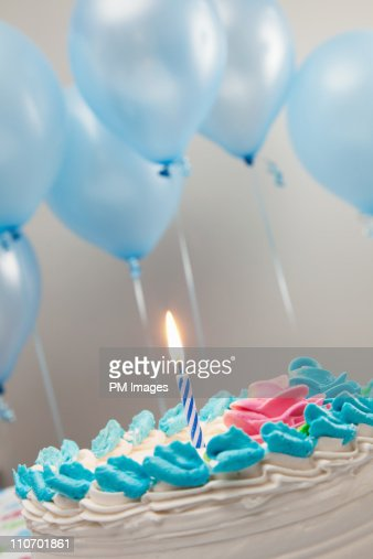 First Birthday Cake : Stockfoto