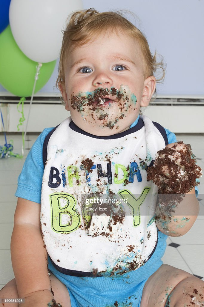Fat Kids Eating Cake Stock Photos and Pictures Getty Images