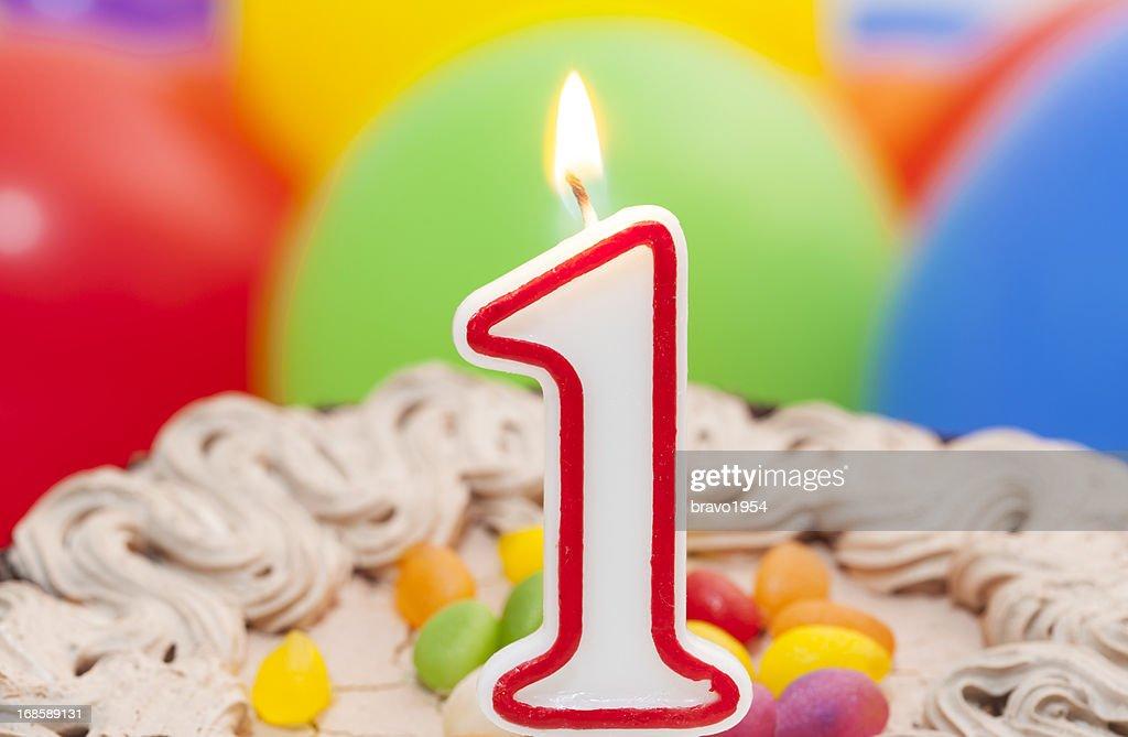First birthday cake to celebrate