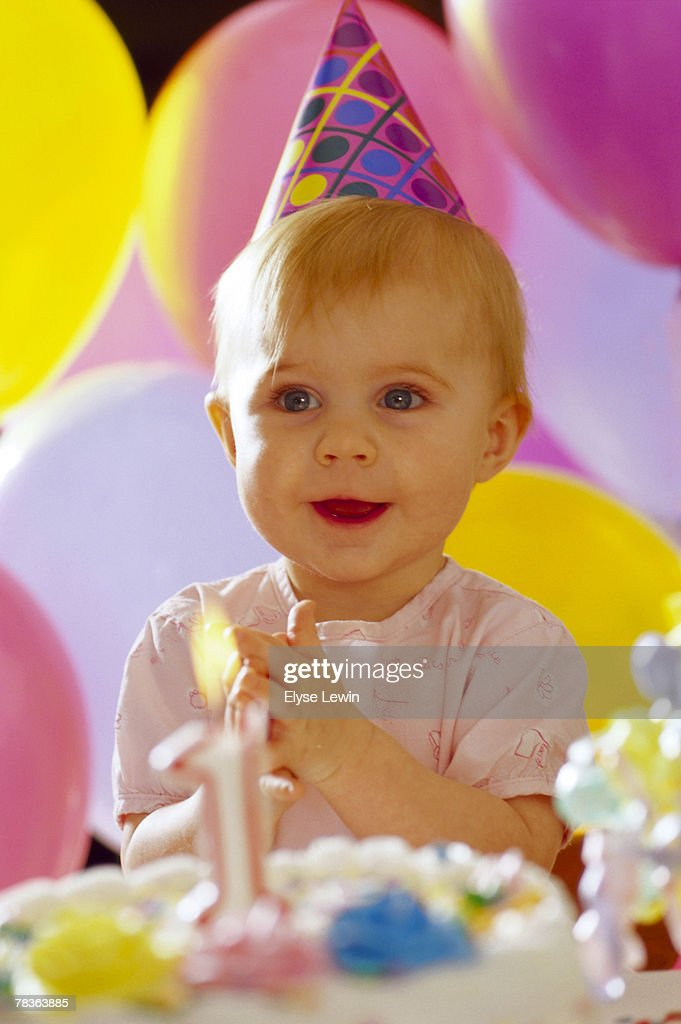 First birthday for girl