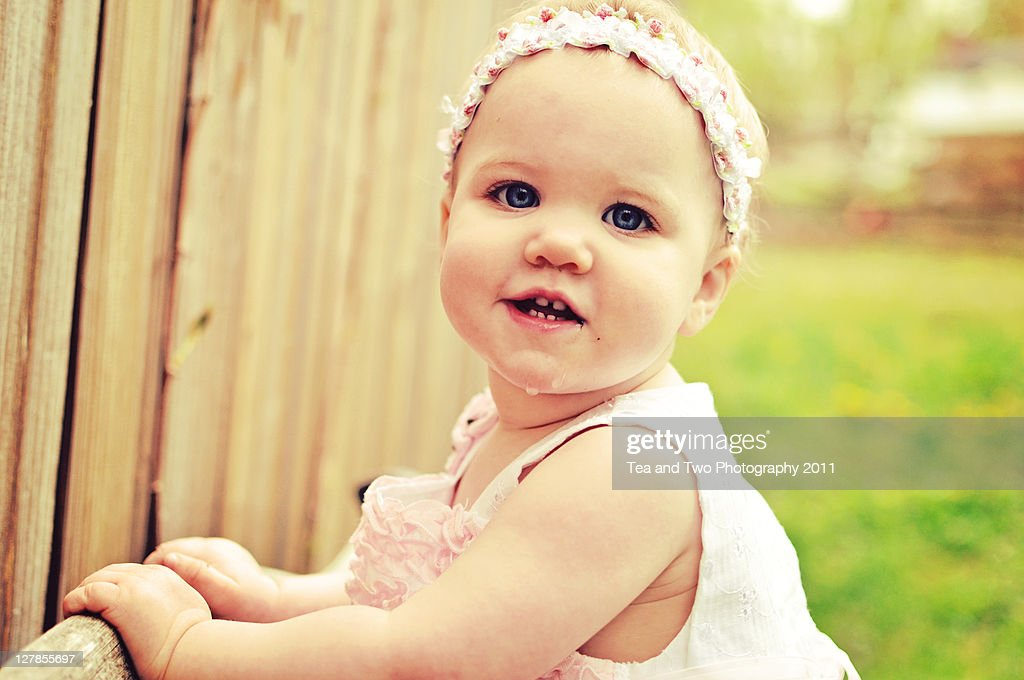 First birthday : Stock Photo