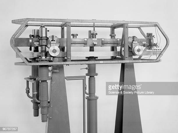 First caesium atomic clock 1955 First caesium atomic clock 1955 Made by National Physical Laboratory Teddington Middlesex The United States Bureau of...