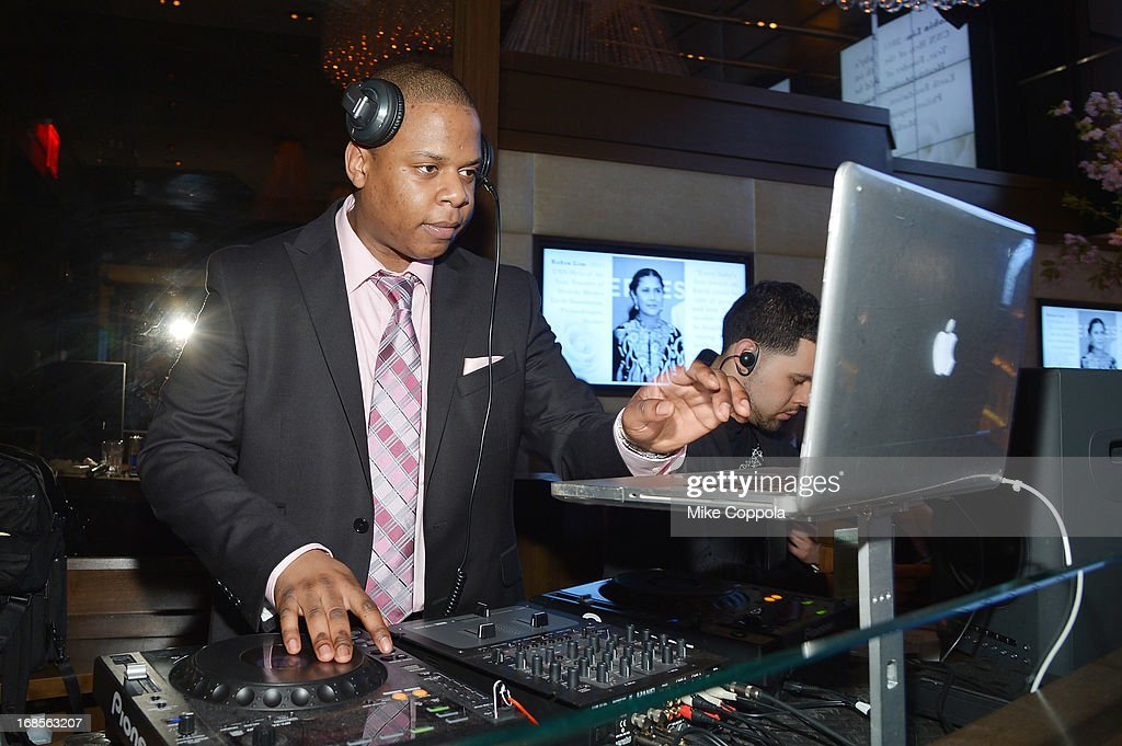 DJ First Choice performs at the Shawn Carter Foundation's Mother's Day event 'Celebrating Mothers, Our First Educators' at 40 / 40 Club on May 11, 2013 in New York City.
