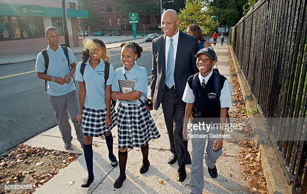 First day of School in Philadelphia