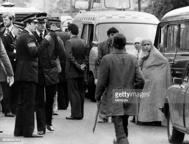 First day of the Iranian Embassy Siege in London where six gunmen of the Iranian extremist group 'Democratic Revolutionary Movement for the...