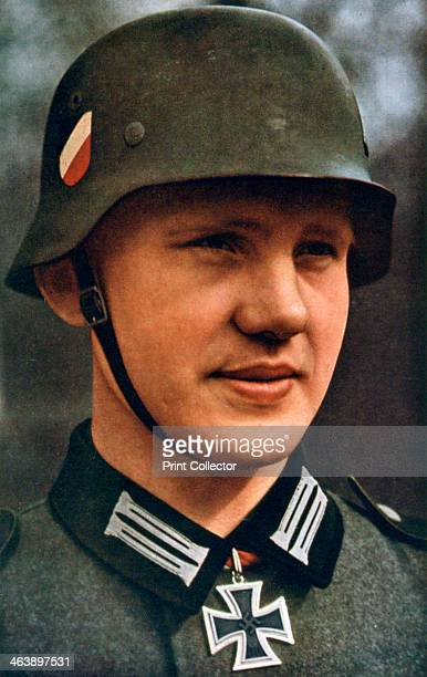First German soldier to receive the Knight's Cross 1941 A print from Signal June 1941 Signal was a magazine published by the German Third Reich from...