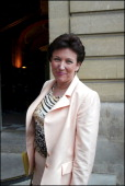 First Government Meeting At Hotel Matignon On November 5Th 2002 In Paris France Roselyne Bachelot