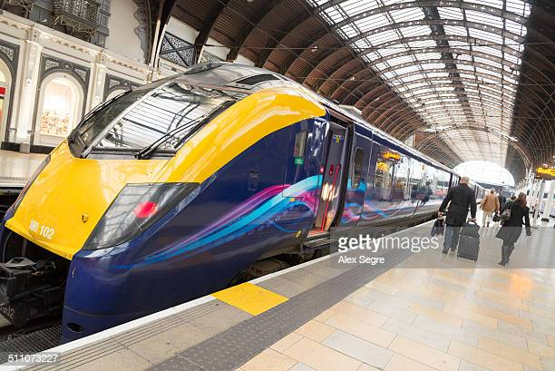 First Great Western train at Paddington Station London England UK
