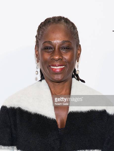 First Lady Chirlane McCray attends the 2016 DVF Awards at United Nations on April 7 2016 in New York City