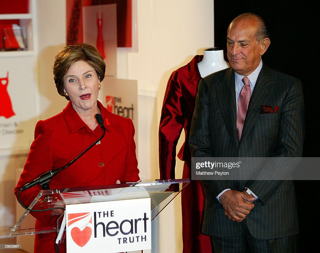 Laura Bush At Heart Of Truth Campaign In New York