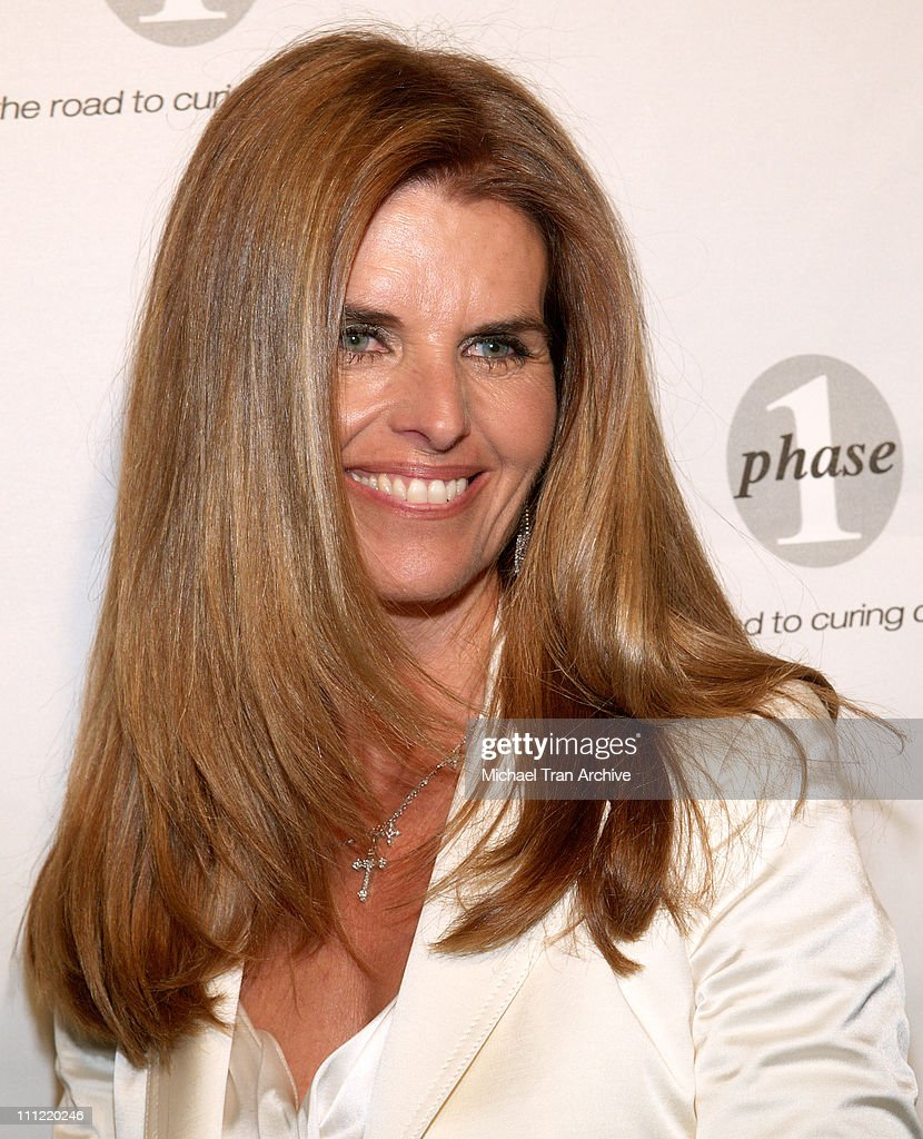 First Lady Maria Shriver during Phase One Celebrates Their 7th Annual Fundraiser for Cancer Research Arrivals at Regent Beverly Wilshire in Beverly...