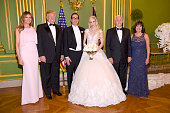 Secretary of the Treasury Steven Mnuchin and Louise...