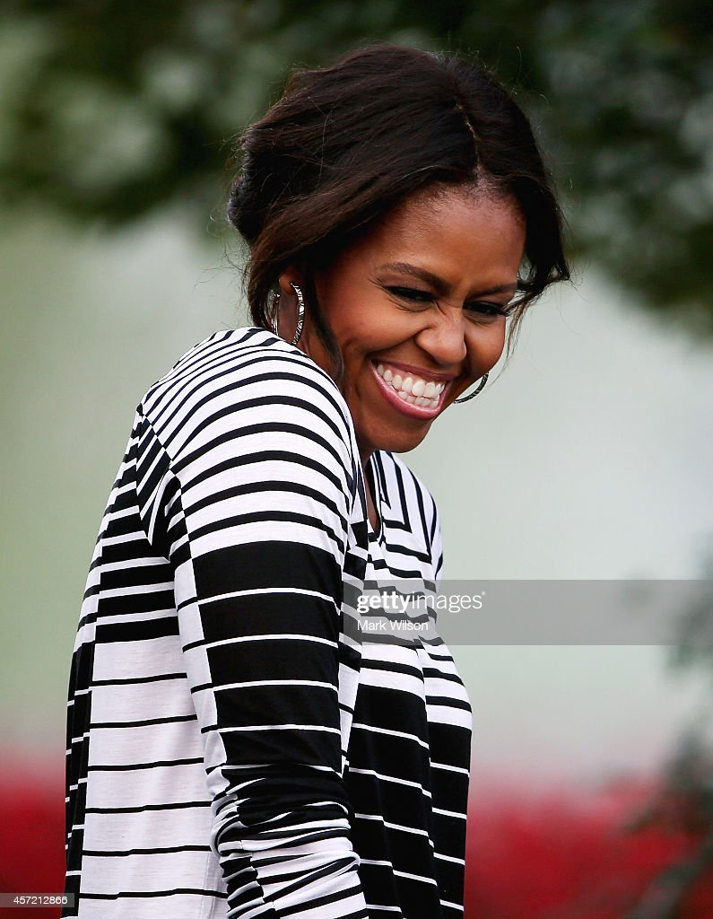 Michelle Obama Kitchen Garden Michella Obama Hosts Fall Harvest Event At White House Kitchen