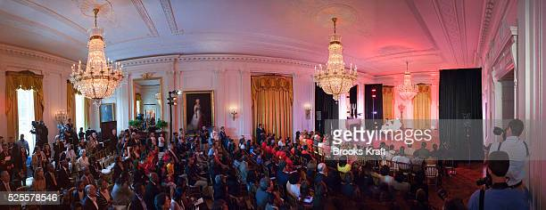 First lady Michelle Obama hosts a tribute to renowned dancer Judith Jamison choreographer and artistic director of the Alvin Ailey American Dance...