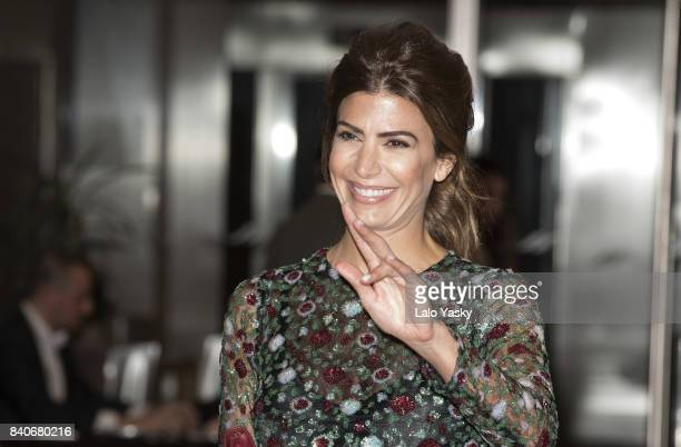 First Lady of Argentina Juliana Awada attends the Garraghan Children's Hospital 35th Anniversary Gala at The Hilton Hotel on August 29 2017 in Buenos...