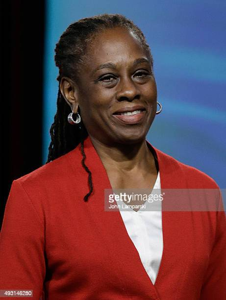 First Lady of New York City Chirlane I McCray attends 4th Annual People en Espanol Festival at Jacob Javitz Center on October 17 2015 in New York City