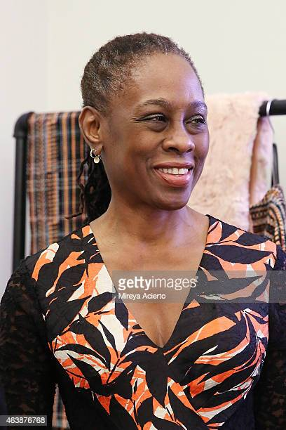 First lady of New York City Chirlane McCray attends CFDA {Fashion Incubator} Market Day presentations during MercedesBenz Fashion Week Fall 2015 at...