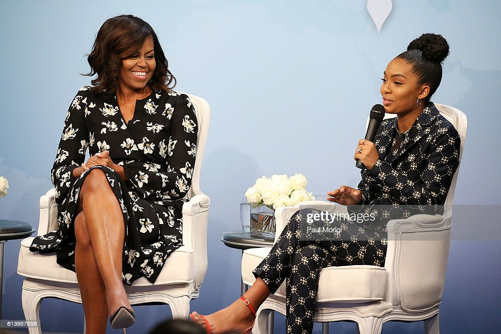 """Glamour Hosts """"A Brighter Future: A Global Conversation on Girls' Education"""" With First Lady Michelle Obama"""