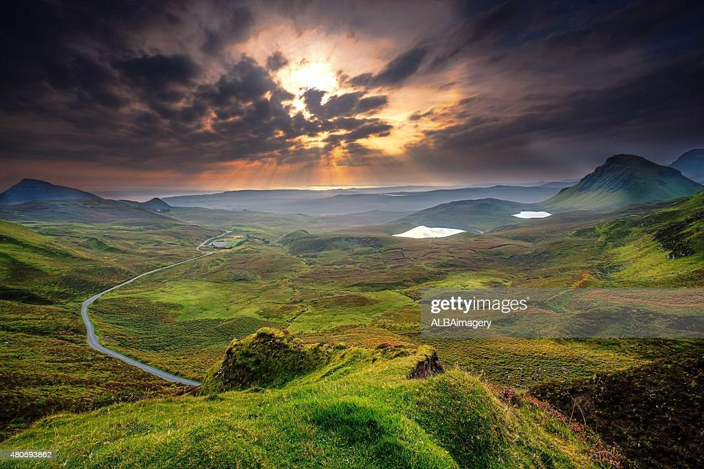 First Light of Dawn : Stock Photo