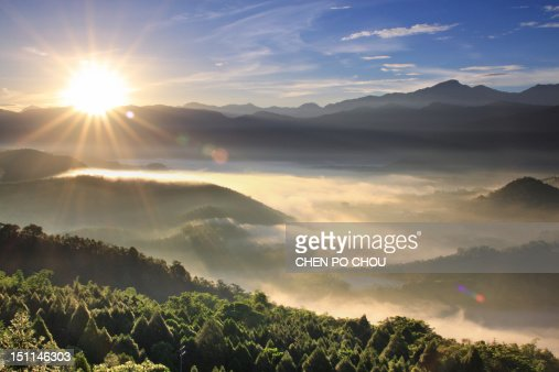 First light of day : Stock Photo