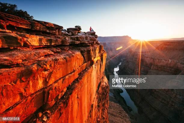 First light over Toroweap point, Grand Canyon, USA