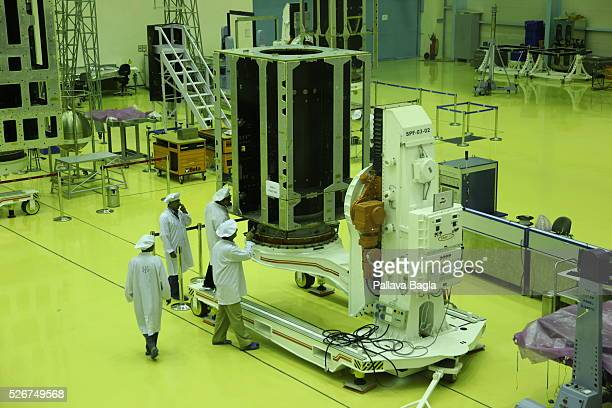 First look at the 'SAARC Satellite' a proposed communication and meteorology satellite by the Indian Space Research Organisation for the SAARC region...
