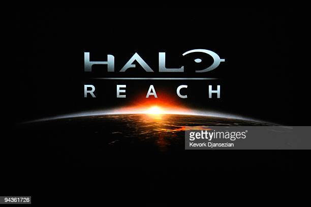 A first look of 'Halo Reach' onstage during Spike TV's 7th Annual Video Game Awards at the Nokia Event Deck at LA Live on December 12 2009 in Los...