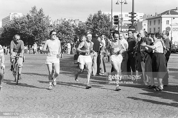 First Marathon Of Paris
