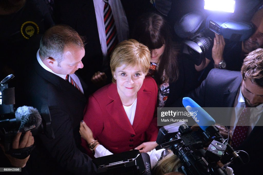 General Election 2017 - Glasgow Count And Declaration : News Photo