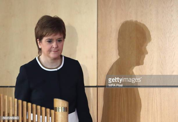 First Minister Nicola Sturgeon at Scotland's Inclusive Growth Conference as she outlines how reducing inequality and creating a fairer society can...