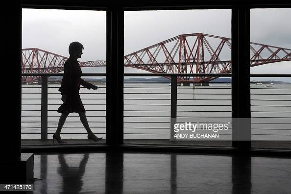 First Minister of Scotland and leader of the Scottish National Party Nicola Sturgeon campaigns with local SNP candidate Michelle Thomson in South...