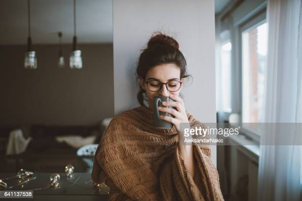 First morning coffee