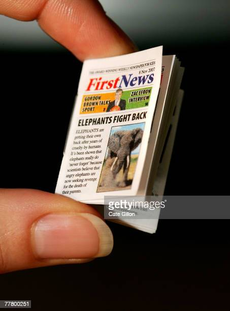 First News received the Guinness World Record for the smallest newspaper on November 8 2007 in London England The children's newspaper published the...