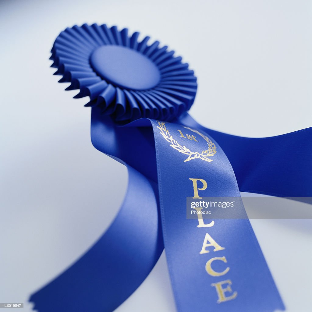 First Place Ribbon : Stock Photo