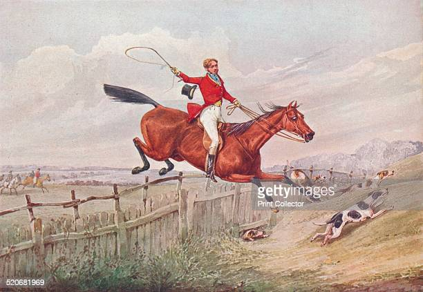A First Rate Workman of Melton An English hunting scene after an original work by Henry Thomas Alken From the Connoisseur VOL XV 1906