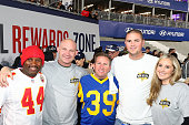 Shell Rewards First Responders At LA Rams Game