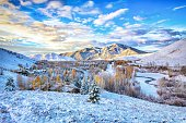 First Snow - Sun Valley, Idaho