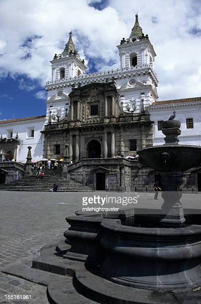 Primera Iglesia española de Quito, Ecuador Iglesia de San Francisco