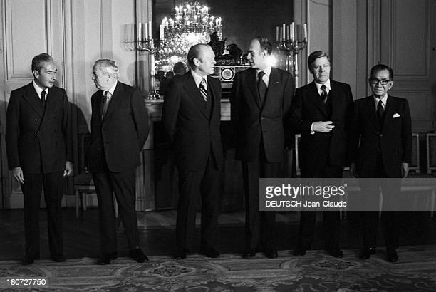First Summit Of Developed Countries In Rambouillet Rambouillet 17 novembre 1975 Conférence des Six sur la relance économique Paru Pm 1383