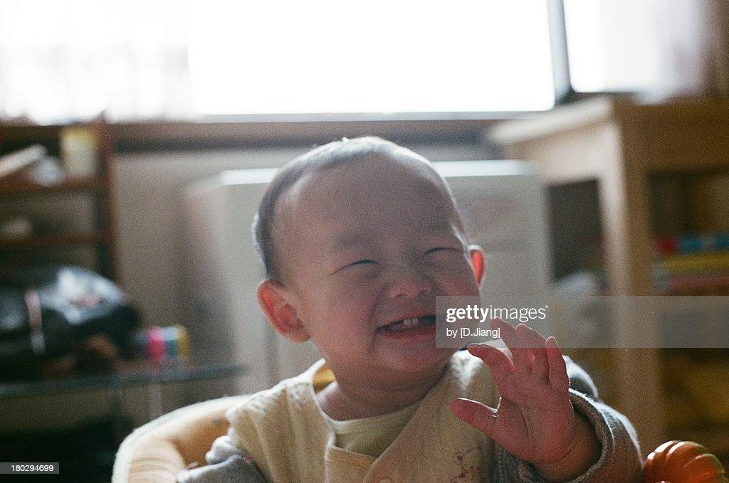 First teeth : Stock Photo