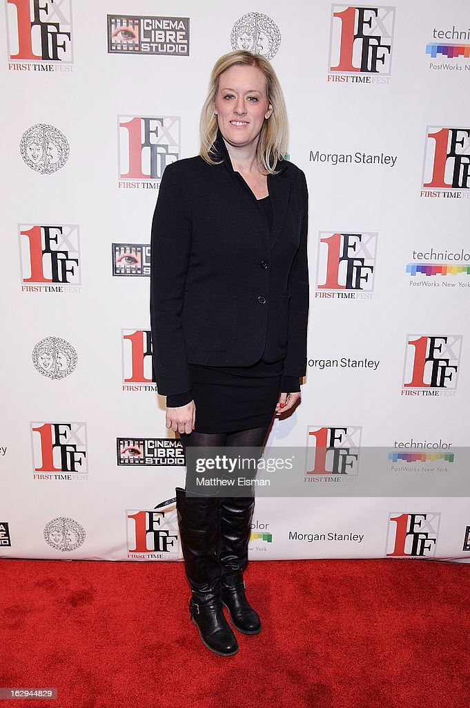 First Time Fest co-founder Mandy Ward attends the 'The Virgin Suicides' as part of the First Exposure Series during the 2013 First Time Fest at AMC Loews Village 7 on March 1, 2013 in New York City.
