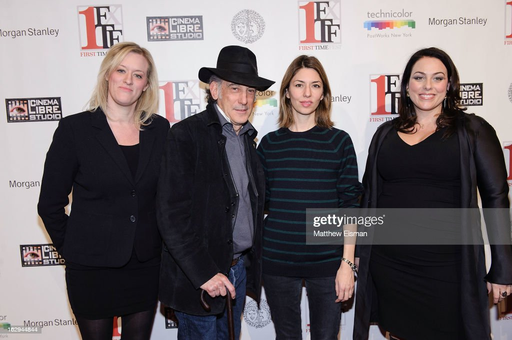First Time Fest co-founder Mandy Ward, cinematographer Ed Lachman, director Sofia Coppola and First Time Fest co-founder Johanna Bennett attend the 'The Virgin Suicides' as part of the First Exposure Series during the 2013 First Time Fest at AMC Loews Village 7 on March 1, 2013 in New York City.