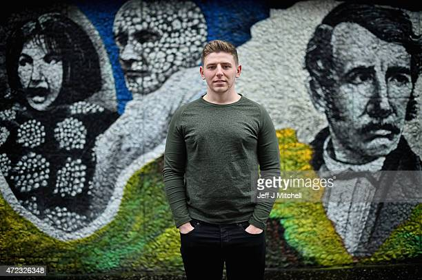First time voter and leisure attendant Liam Kildea poses for a portrait on May 3 2015 in Glasgow Scotland Asked what was the single most important...