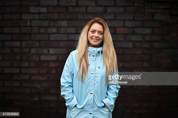 First time voter and student Shannon Martin poses for a portrait on May 3 2015 in Glasgow Scotland Asked what was the single most important election...