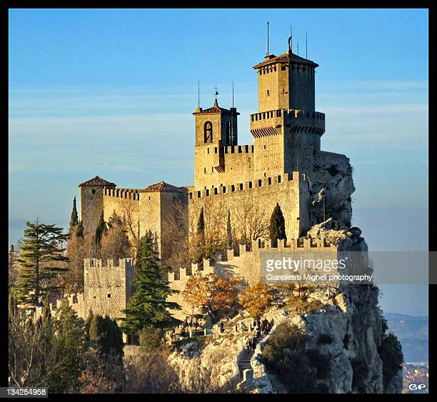 First tower in San Marino