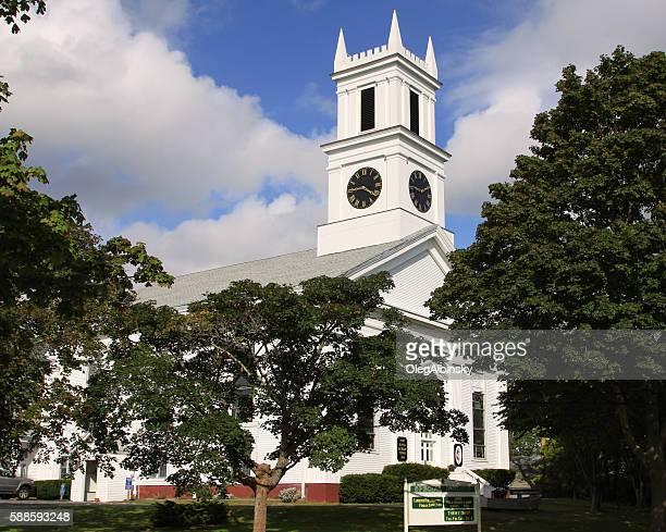 First United Methodist Church, Chatham, Cape Cod, Massachusetts, USA.